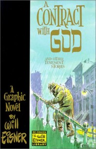 "Cover art for ""A Contract with God"" by Will Eisner"