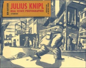 "Cover art for ""Julius Knipl"" by Ben Katchor"