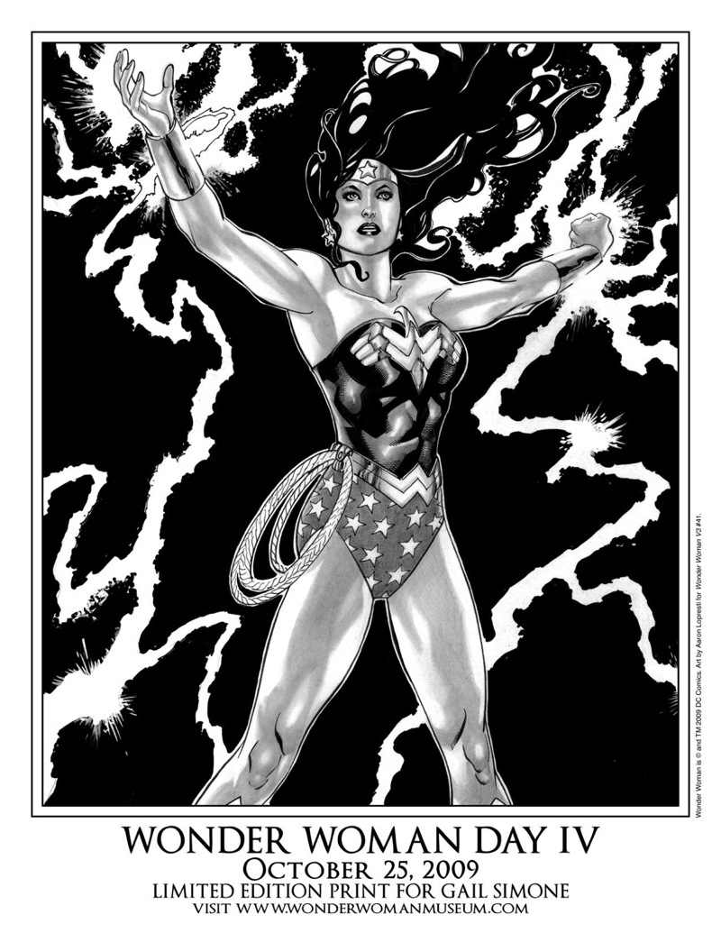 Gail Simone Wonder Woman print